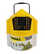 Frabill 6qt Flow-Troll Minnow Bucket Aerated Fishing Live-bait Container - $14.95