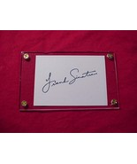 FRANK SINATRA Autographed Signed Signature Cut w/COA - 30751 - $425.00
