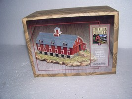NEW OLD STOCK F910  ERTL AMERICAN COUNTRY GAMBREL ROOFED BANK  BARN 1996 - $7.84