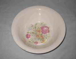 "Neat Vintage 8 3/4"" Harker Vegetable Bowl Flowers - $33.68"