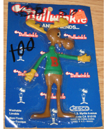 * Rocky and Bullwinkle 1986 Jesco Bendy BULLWINKLE - $15.00