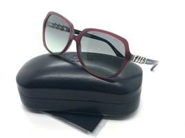 Coach Sunglasses HC8155Q 532111 Milky Black Cherry/Black 59 16 140 - $77.57