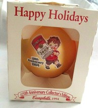 Campbell Kids,Christmas,Ornament,Collector's Edition,Box  1994,125th Ann... - $14.84
