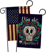 Dia de Muertos Skeleton - Impressions Decorative USA Vintage - Applique Garden F - $30.97