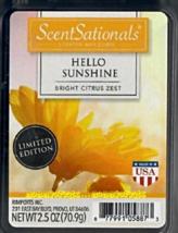 Hello Sunshine ScentSationals Scented Wax Cubes Tarts Melts Potpourri Ci... - $3.50