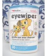 Petkin Eyewipes Eye Wipes for Dogs & Cats, new sealed - $9.89