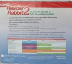 Deluxe! Reader Rabbit 2 Ages 5-8 CD-ROM image 2