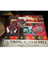 Original 1996 Viking Auto Supply Racing Calendar from Phillipsburg NJ - $15.00