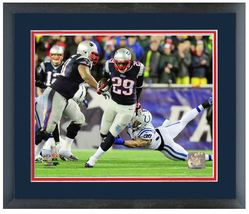"LeGarrette Blount 2013 Patriots Playoff Action - 11 ""x 14"" Framed/Matted... - $836,92 MXN"