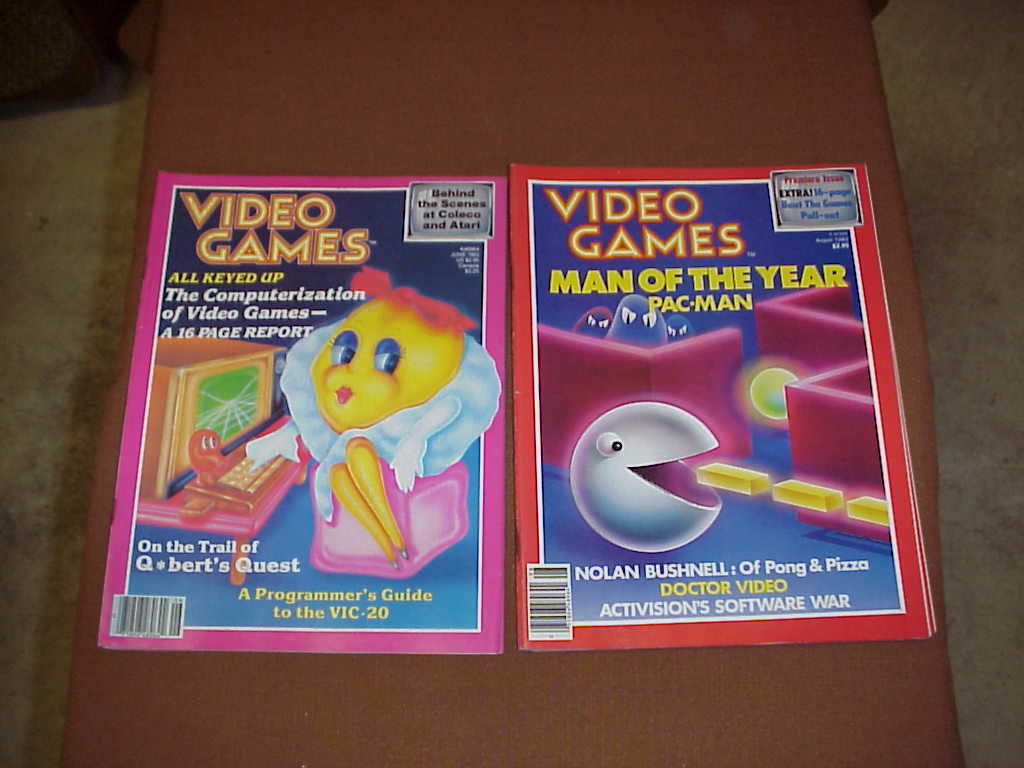 Video mags  video games  r45