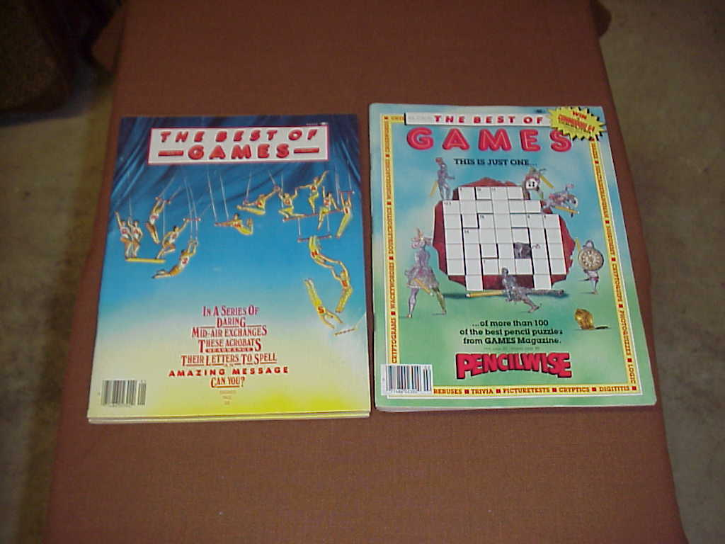 Video Games and Games Magazines Lot of 10