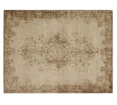 Brand New Pottery barn 8X10 Fallon Persian Style Printed Woolen Area Rug... - $648.00