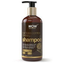 WOW Skin Science Hair Loss Control Therapy Shampoo 300ml Thick & Healthy... - $21.99