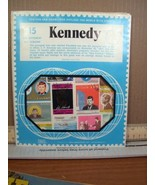 15 Kennedy Stamps, Series 234-153, Don Hirschhorn, Inc. - $8.99