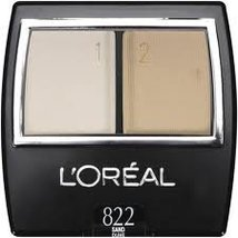 L'Oreal Professional Eye Shadow Duos, 822 Sand Dune (2 pack) - $32.00