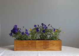 Centerpiece, Wooden Centerpiece, Flower Box, Wooden Box, Succulent Plant... - $30.00