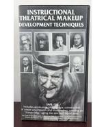 Instructional Theatrical Makeup Development Techniques Tape# 2 VHS - $14.03