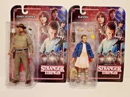 """McFarlane Toys Stranger Things Chief Hopper & Eleven 7"""" Action Figures NEW - $57.63"""