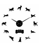 Malinois Police K9 Dog Large DIY Wall Clock German Shepherd Dog's Lover ... - $32.95+