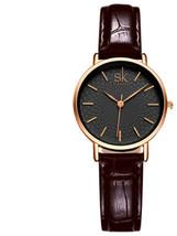 Susenstone High Quality Leather Belt Ladies Waterproof Wrist Watch Luxur... - $12.37