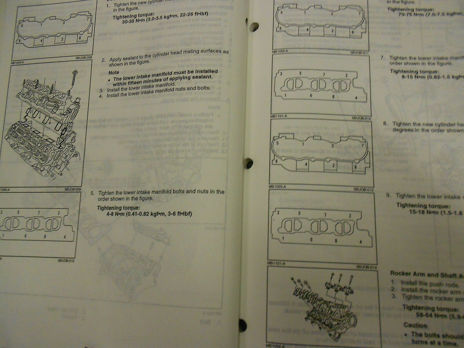 1995 Mazda B-Serie Truck Service Highlights Reparatur Shop Manuell OEM 95