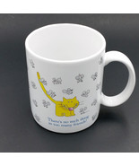 Vintage 1985 Hallmark Mug No Such Thing As Too Many Friends Cat Mice Fri... - $12.50