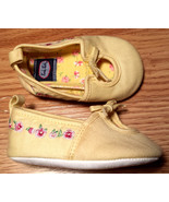 Baby Girl's Size 3-6 M Months K.Kids Infant Yellow Pink Floral Embroider... - $16.00