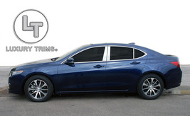Acura TLX Stainless Steel Chrome Pillar Posts by Luxury Trims 2015-2017 ... - $69.80