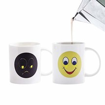 Tarpul Porcelain Color Changing Coffee Magic Mug Heat Changing Mug Heat ... - $21.04