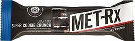 MET-Rx Big 100 Colossal Protein Bar, Super Cookie Crunch, 100 g Bar (9 count), H - $28.37