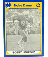1990 Collegiate Collection Notre Dame Bobby Leopold Linebacker 1976-79  - $4.94