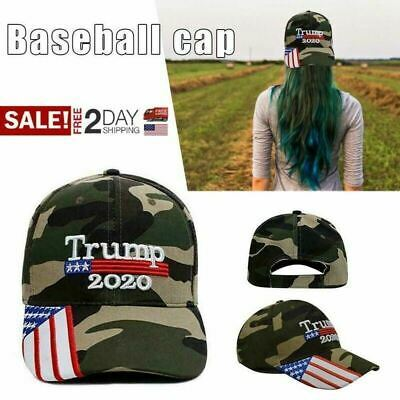 Trump Hat, President Donald Trump 2020 Hat Keep America Great Embroider