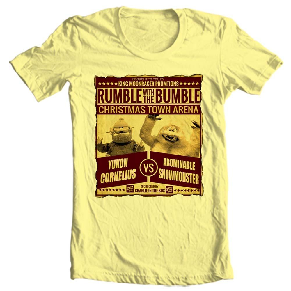 Yukon cornelius bumble t shirt christmas rudolph online t shirt store for sale