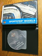 2017 Harley-Davidson Sportster Owner's Owners Manual NEW w Leather Cover & DVD! - $65.34