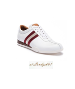 Bally White Lining Men's Loafer Comfort Shoes Frenz Sneakers Sz US 11.5 ... - $286.11