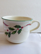 Lenox Chinastone Country Holly patetrn tea or coffee Cup - $16.63
