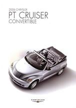 2006 Chrysler PT CRUISER CONVERTIBLE brochure catalog 06 - $8.00