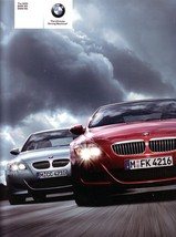 2006 BMW M5 M6 sales brochure catalog US 06 V10 - $12.00