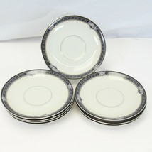 """Mikasa Gothic Rose Saucers 5.75"""" Lot of 8 - $39.19"""
