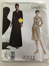 Vogue Sewing Pattern 2764 Misses Jacket and Skirt Uncut Size 6-8-10 - $7.88