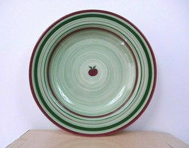"Franciscan APPLE PIE Large 16"" Salad Serving Bowl (MADE IN USA) w Box Rare - $43.12"