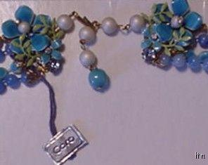 Vintage CORO 4-Strand Bead Pearls Necklace New with Tag
