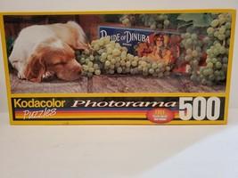 "Kodacolor Dog Tired Photorama 500 Piece Puzzle 9 1/4"" x 26 3/4"" - $23.36"