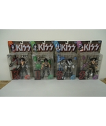 KISS Band McFarlane Action Figures Frehley Stanley Criss Simmons Set - B... - $127.99