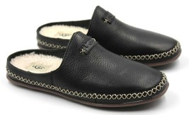 UGG Tamara Women's Genuine Leather Slippers - Black - Size 6 - NEW Authe... - £61.85 GBP