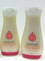 ( LOT 2 ) Method Moisturizing Body Wash, Magnolia 18 fl oz Each NEW - $32.66