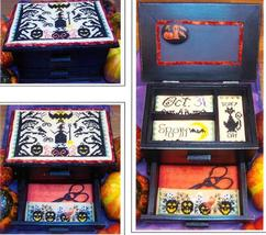 The Halloween Chest cross stitch chart The Stitching Parlor - $7.20