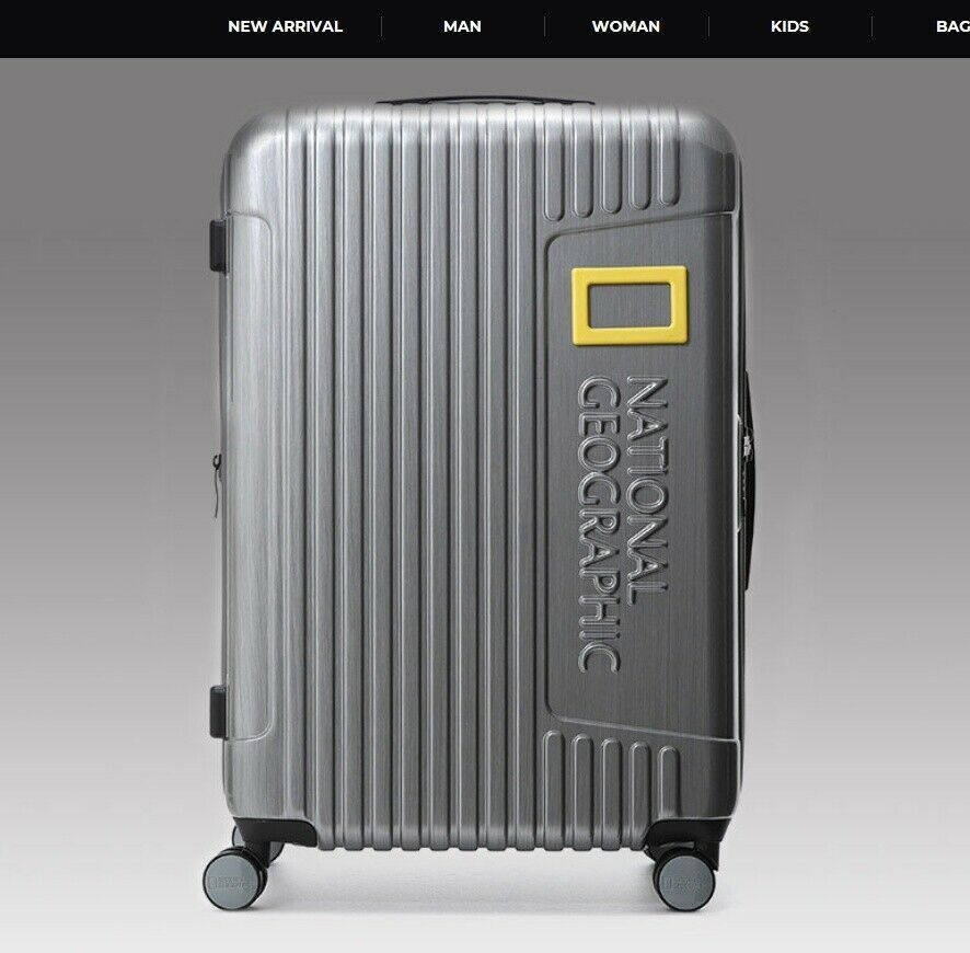 National Geographic Suitcase 24inch NG N6501F [2Colors - Dark Gray, Titanium]