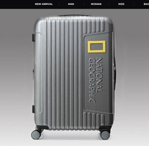 National Geographic Suitcase 24inch NG N6501F [2Colors - Dark Gray, Titanium] image 1