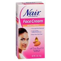 Nair Hair Remover Face Cream 2 Ounce 59ml 2 Pack